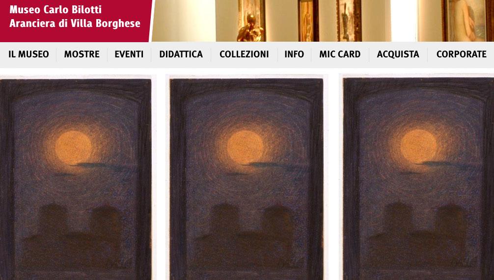 Balla a Villa Borghese all'Aranciera del Museo Carlo Bilotti