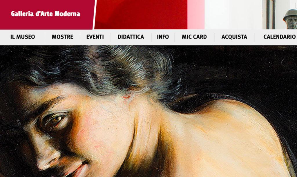 Galleria d'Arte Moderna: Donne. Corpo e immagine tra simbolo e rivoluzione