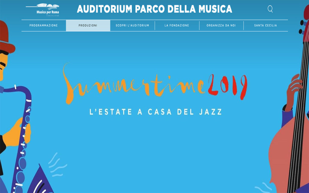 Summertime 2019 alla casa del Jazz a Roma