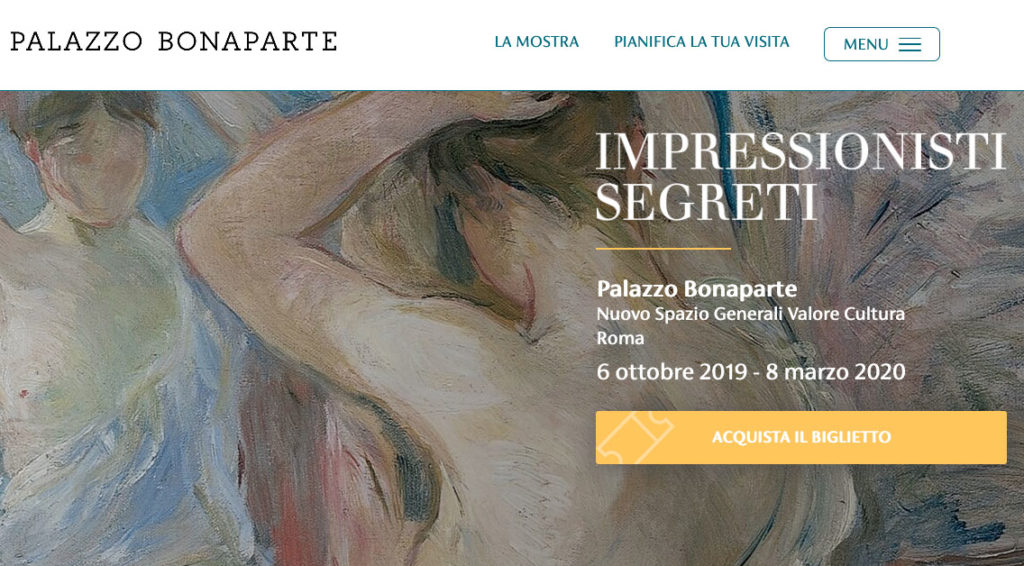 Impressionisti segreti, mostra a Palazzo Bonaparte